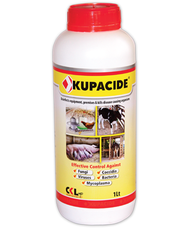 Kupacide Poultry Pathogens Disinfectant, Poultry Hygiene