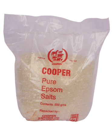 Epsom Salt for Treatment of Indigestion and Constipation in Animals, CKL Africa