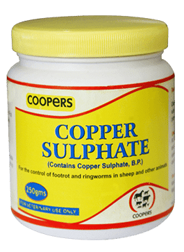 Cooper Sulphate for Foot Rot and Ringworm Treament in Sheep, Goats & Cattle, CKL Africa