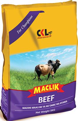 Maclik Beef Livestock Mineral Salt, CKL Africa, Mineral Supplements for Beef Cattle